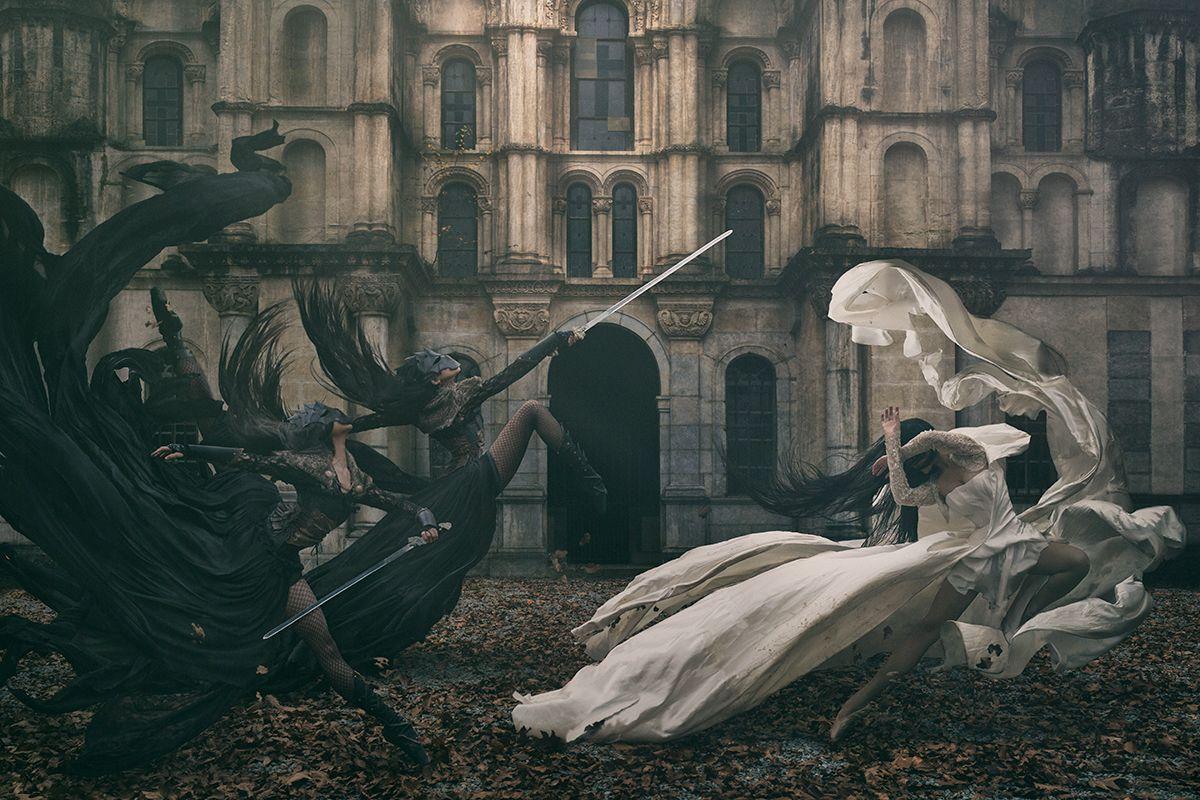 """""""The Keepers"""" — Photographer: Nicolas David – Linkopix Photography Model: Linda Nguyet VU"""