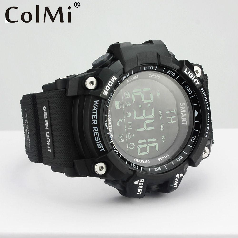 069f0bec967 Colmi Sport Smart Watch VS505 Professional Waterproof 5ATM Passometer Like  Smart Bracelet Ultra-long Standby.   Price  US  32.77 Discount Price  US   16.39 ...
