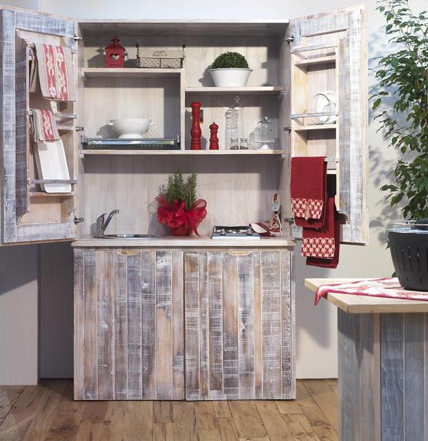 Mini cucine a scomparsa in stile provenzale: le info sull\'azienda ...