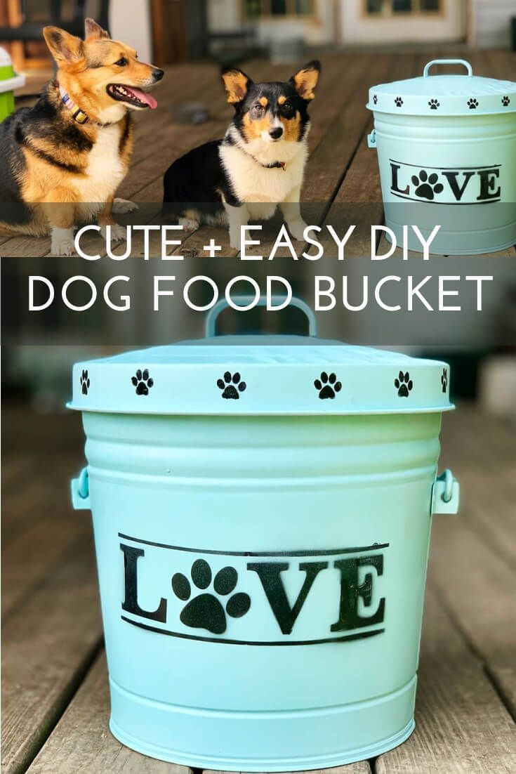 Learn how to make this SUPER easy and cute dog food