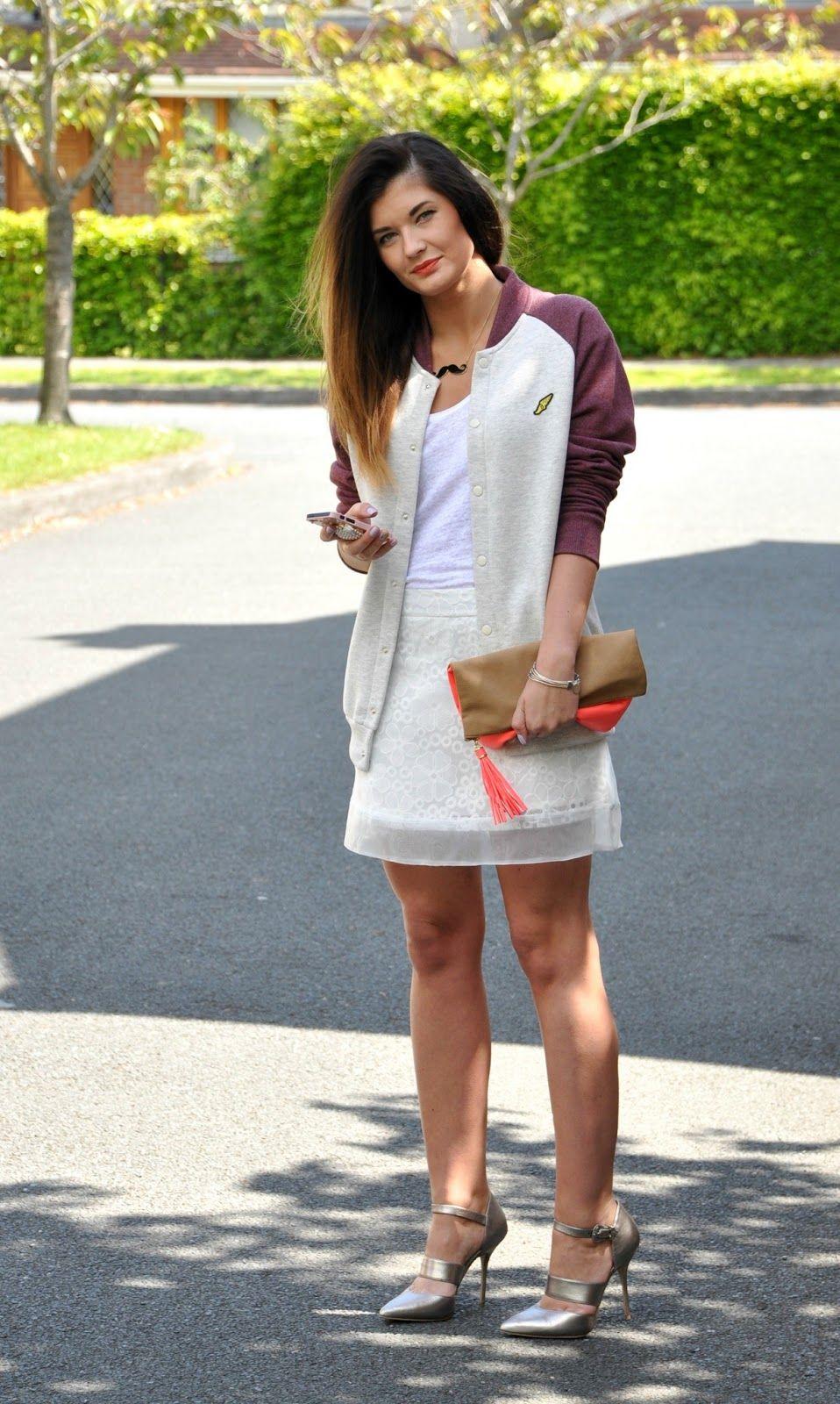 Basketball jacket www.fashionstylistka.com