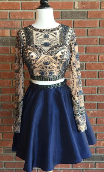 Astonishing 2 Piece Prom Gown Two Piece Prom Dr Gowns Homecoming And Cocktails Hairstyle Inspiration Daily Dogsangcom