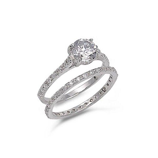 Silver Wedding Ring Sets Wedding And Bridal Inspiration Sterling Silver Wedding Rings Sets Favorite Engagement Rings Wedding Rings Vintage
