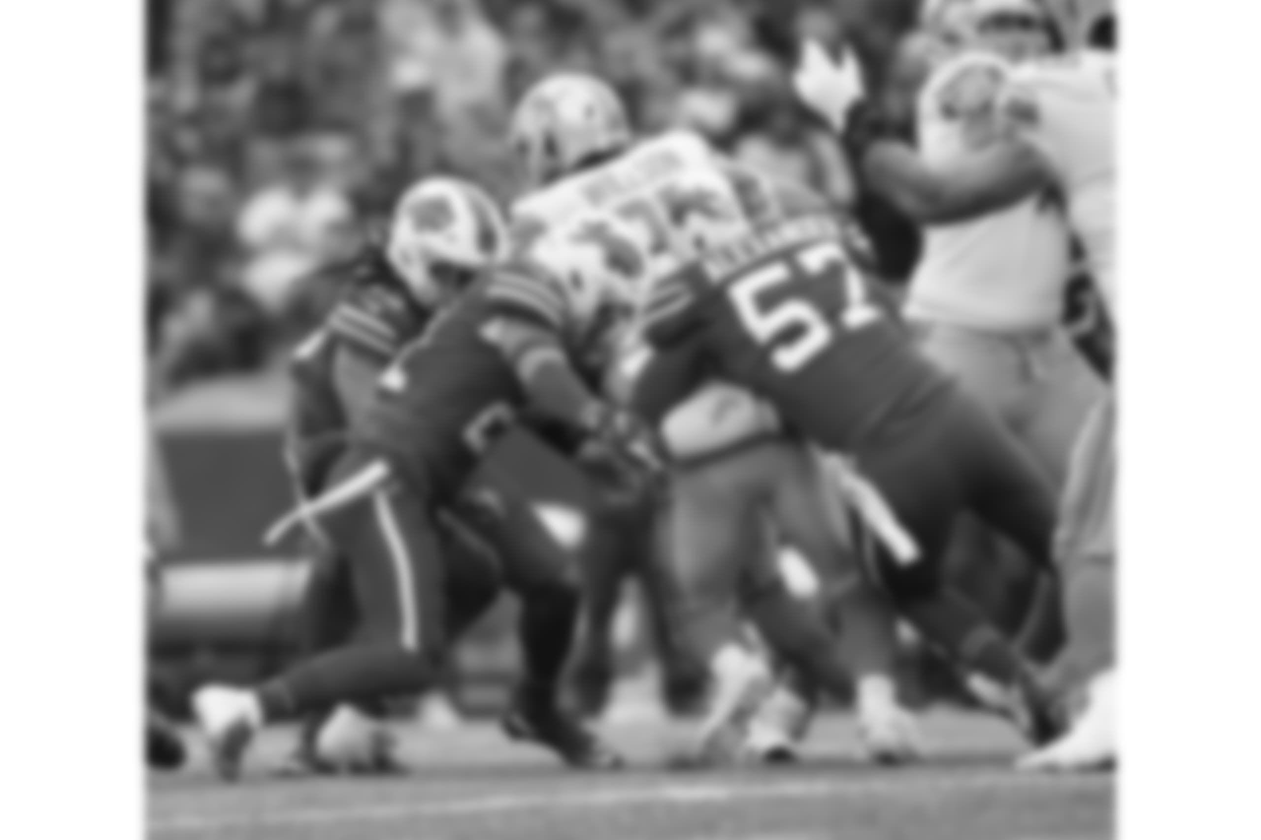 Buffalo Bills outside linebacker Lorenzo Alexander (57