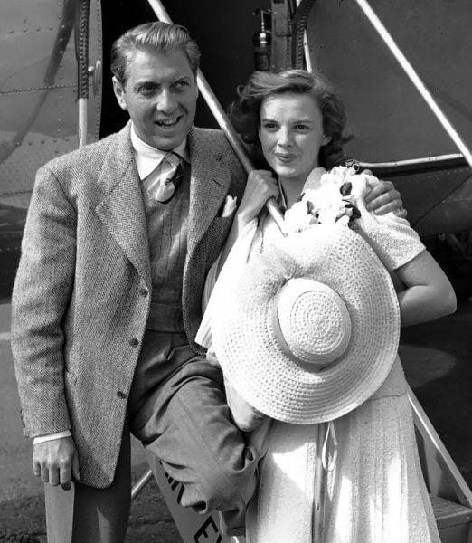 Judy Garland with her husband David Rose. 1940 s  737e8d720