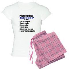 FriendsTVShow  NewYork  PhoebeBuffay Quote Pajamas  34.79 In the one