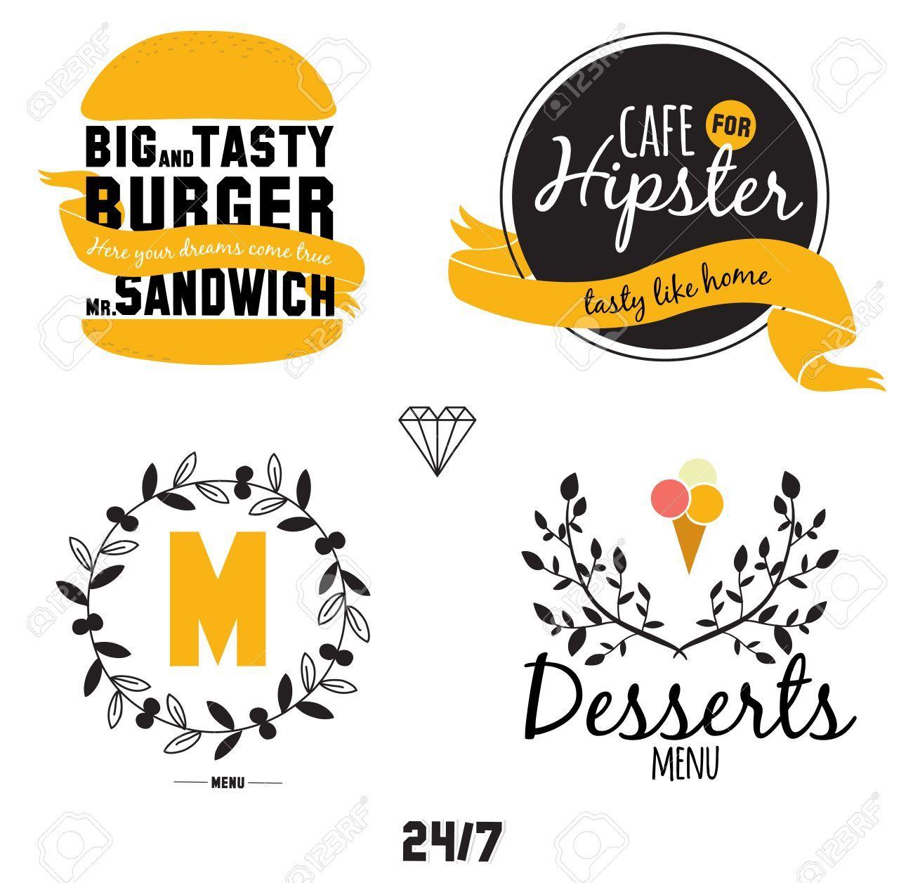 cafe logo template Google Search Cafe menu design