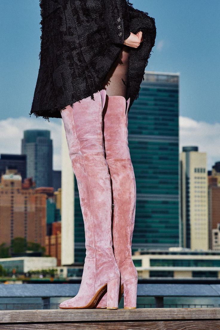 Pink suede Stiefel Stiefel Stiefel   WINTER STYLE   Pinterest   Stiefel, Schuhes and High ... b08844