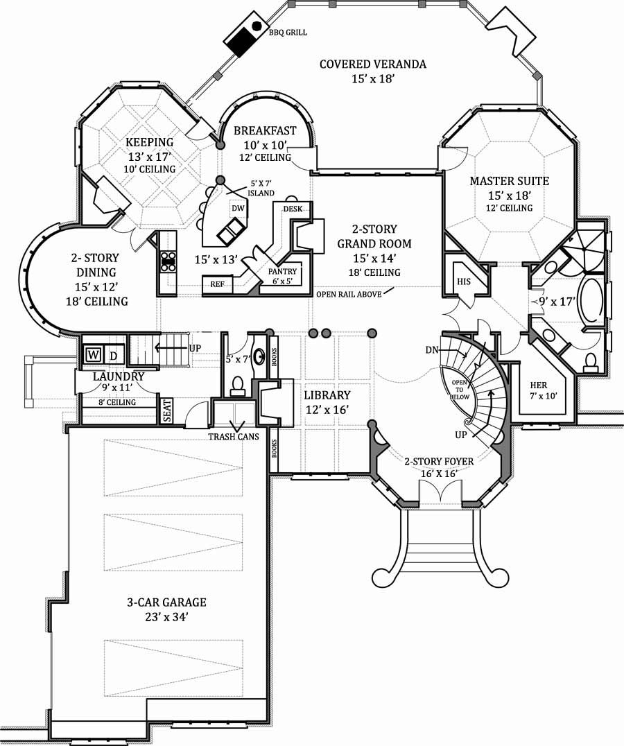 Site Plan Of House
