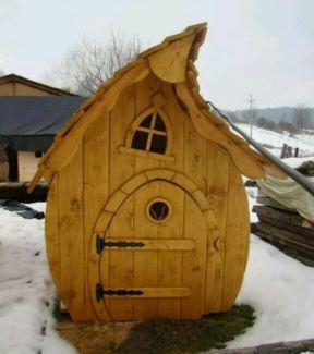 """Spielhaus Baumhaus Kinder Holz Haus """"LAURA"""" in Hessen"""