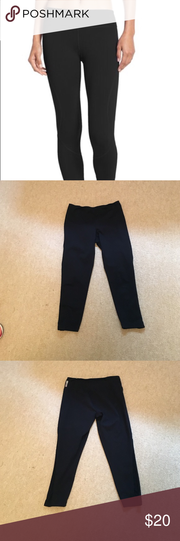 Zella live in leggings, Capri. Zella live leggings, Capri. Good but worn condition, no defects. Zella Pants Leggings