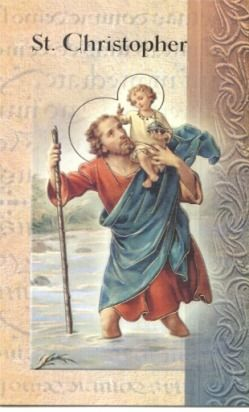 saint christopher, patron saint of travelers