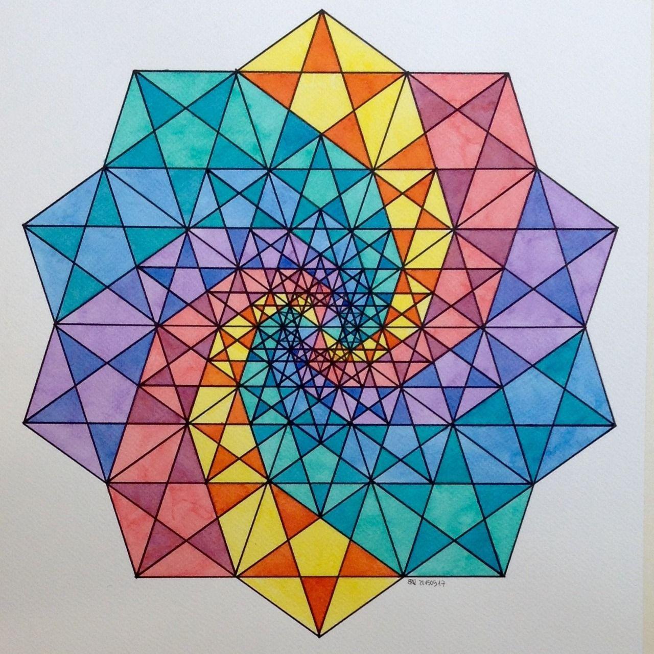 10 geometric art explorations for math learning - 960×960