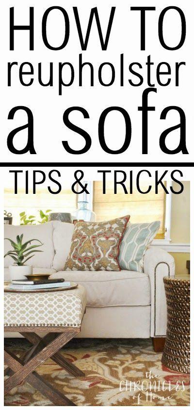 Chaise Sofa DIY Sofa Reupholstery