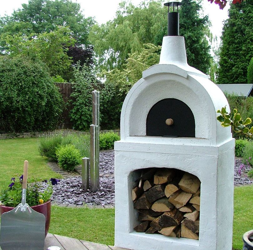 Greek look stucco wood fired oven super excited about the build