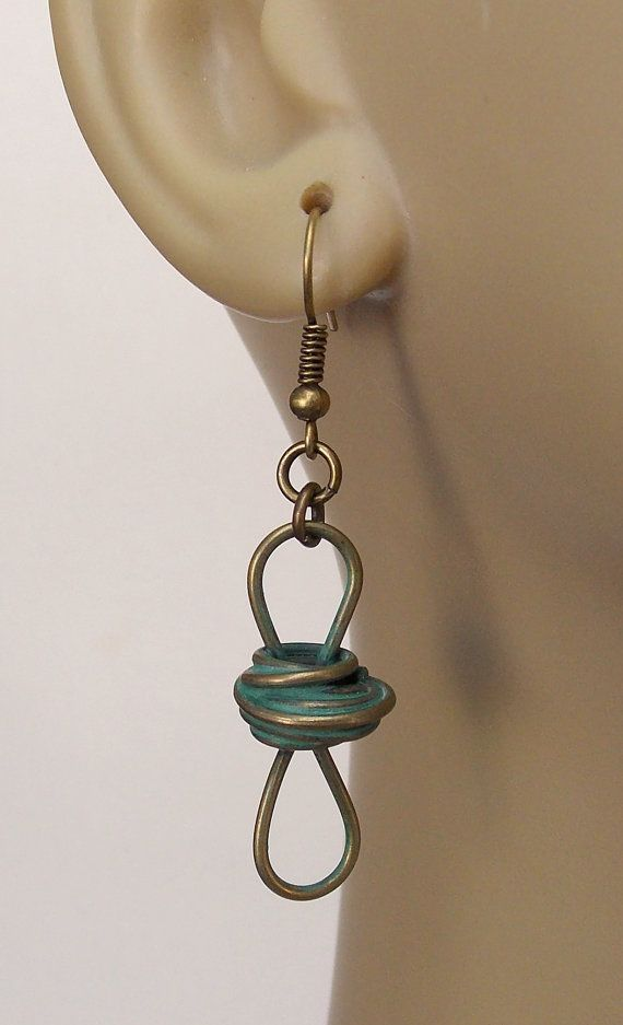 Industrial Dangle Earrings Free Shipping in US by kasual2klassy, $11.00