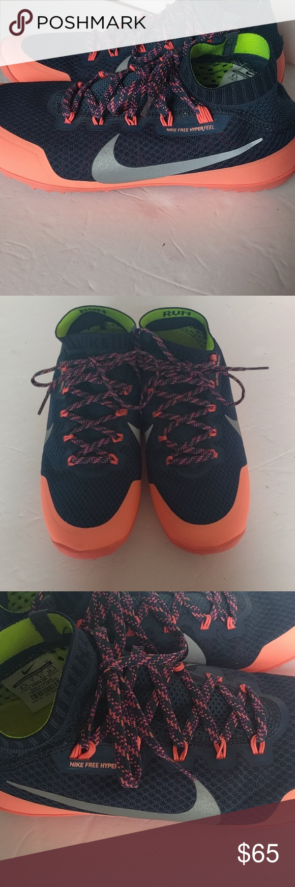 Nike free hyperfeel running shoes These are meant to feel like a barefoot  running experience ee012895c