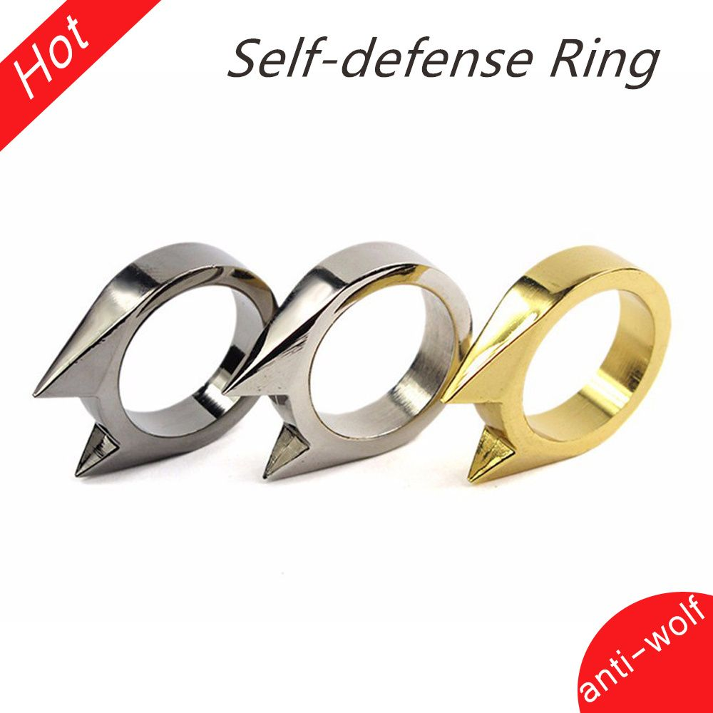 Katze Ohr Mini Legierung Defensive Ring Selbstverteidigung Waffen ...
