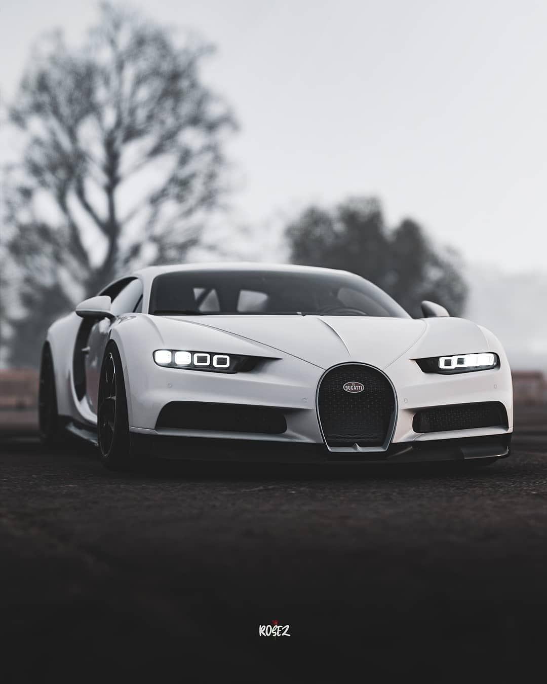 B U G A T T I On Instagram Bugatti Chiron White Rosez Prsx Bugatti Chiron Bugatti Chiron Bugatti Chiron White Best American Cars