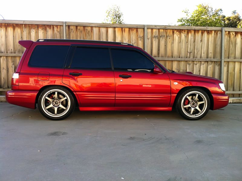 Subaru forester done up