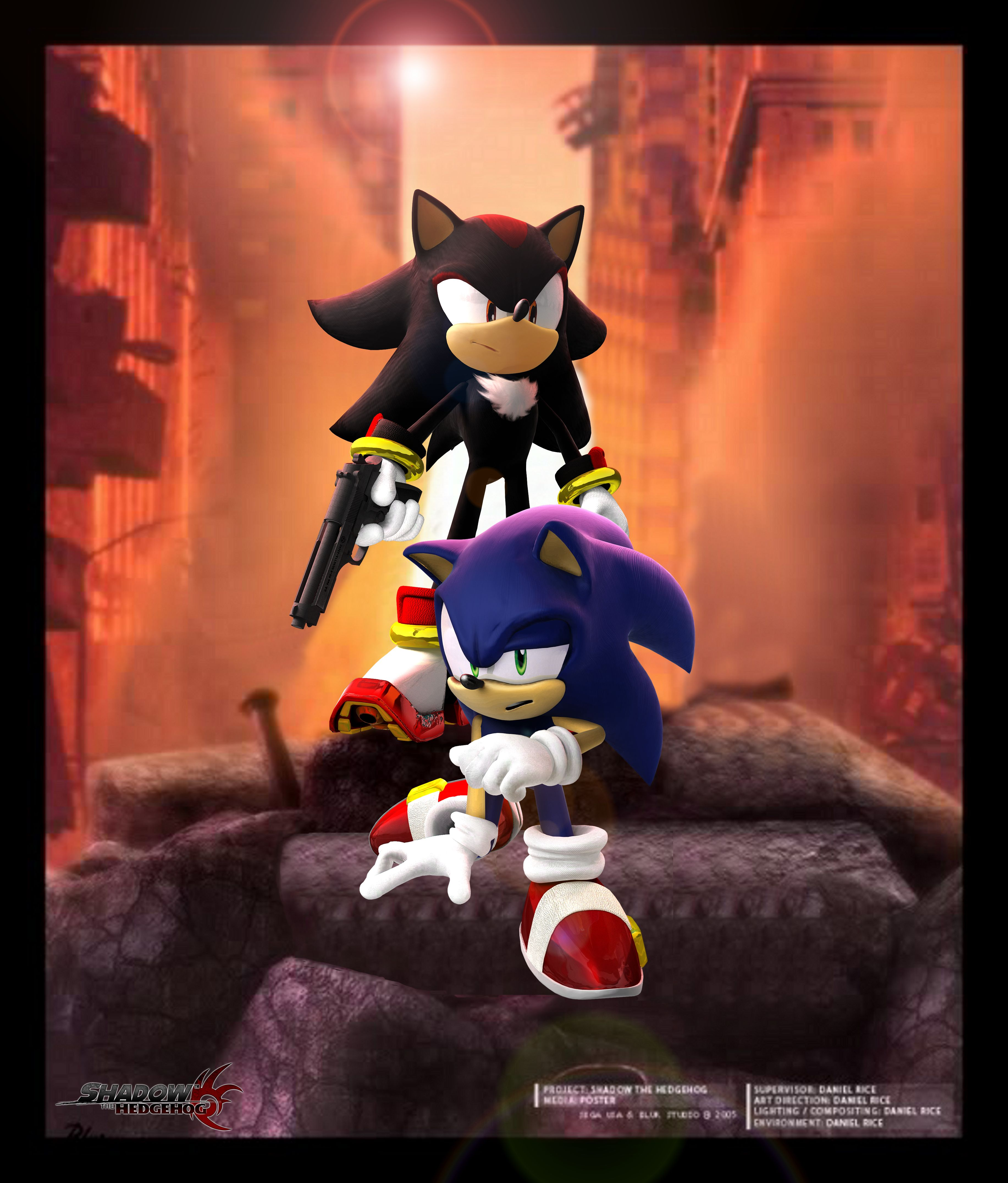 Sonic: ( Trying To Get Up) Shadow, You Know We Can Fix