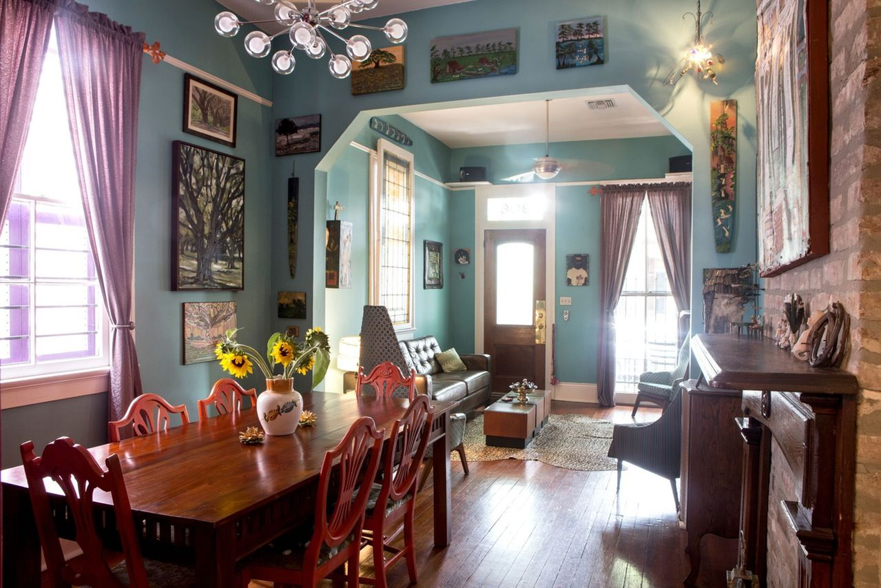 House Tour: A Colorful, Art Filled New Orleans Home