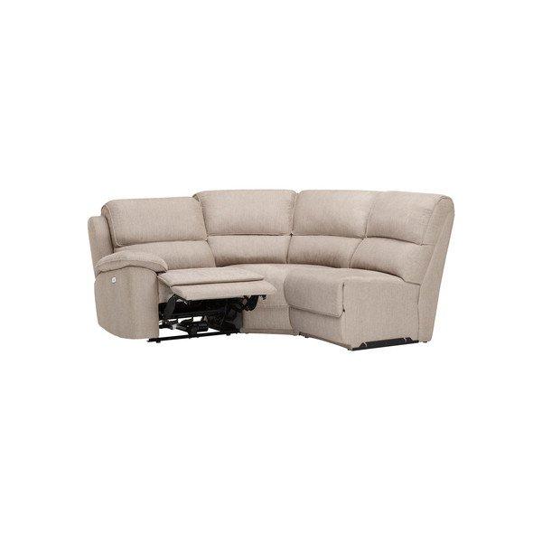 Silver Fabric Sofas Group 6 Manual Recliner Modular Sofa Goodwood Range Oak Furnitureland Oak Furnitureland