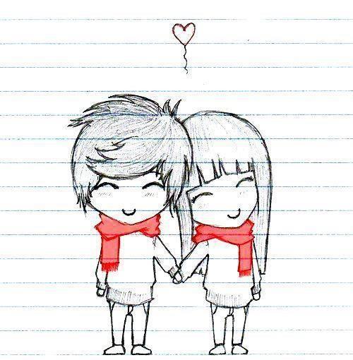 Desenhos De Casais Pegue Varios Fofos Aqui Desenhos Tumblr