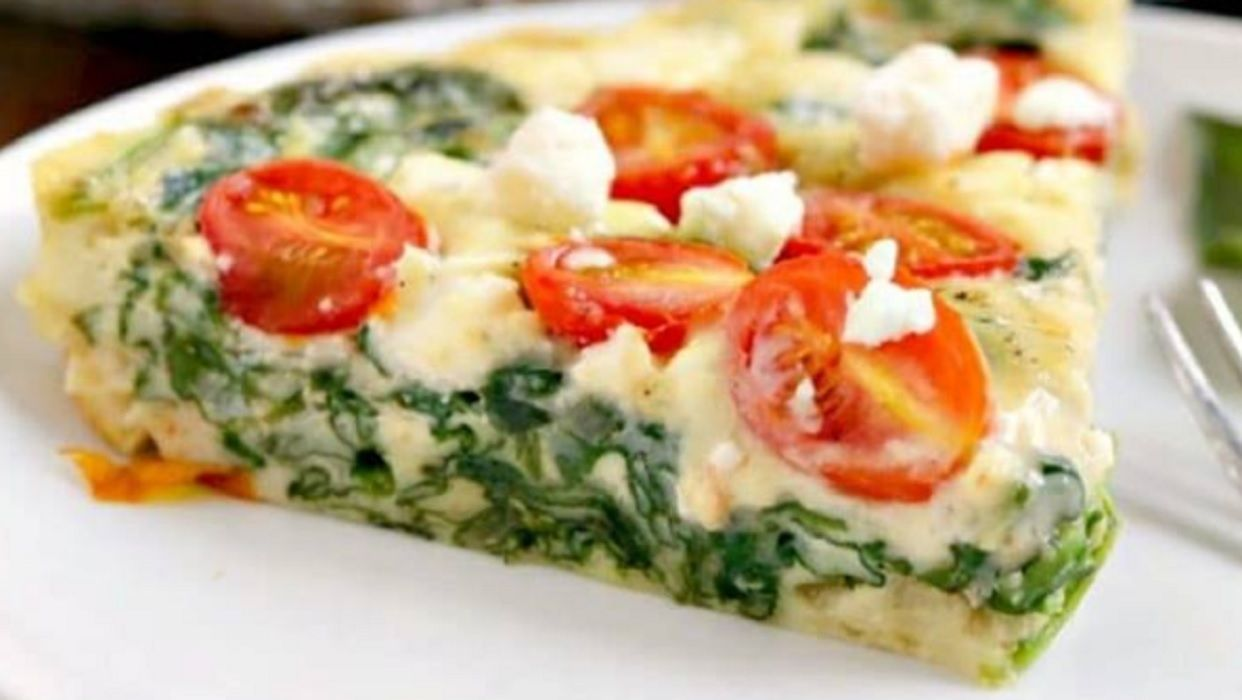recette quiche aux pinards tomates et feta quiche. Black Bedroom Furniture Sets. Home Design Ideas