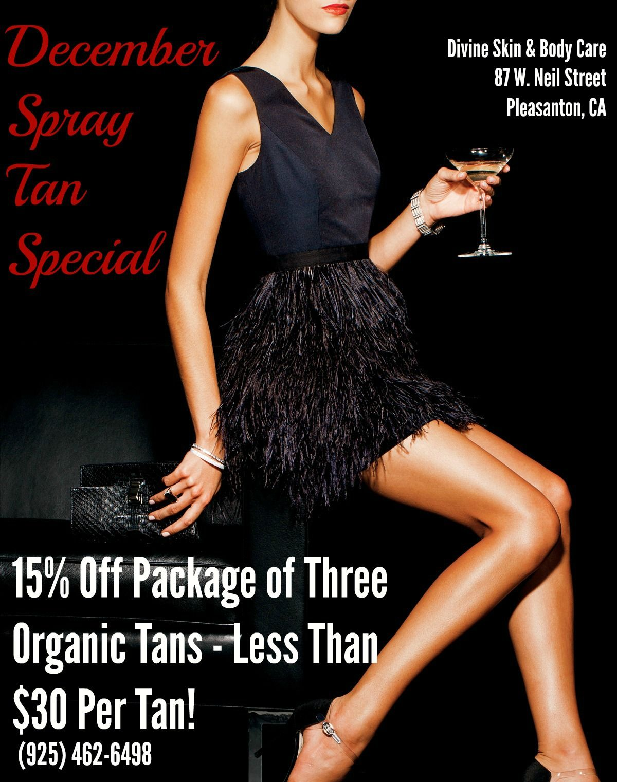Now Is The Perfect Time To Get A Spray Tan Come In Before Your Next Holiday Party New Years Eve Karina Mussari Organic Spray Tan Body Care Organic Tan