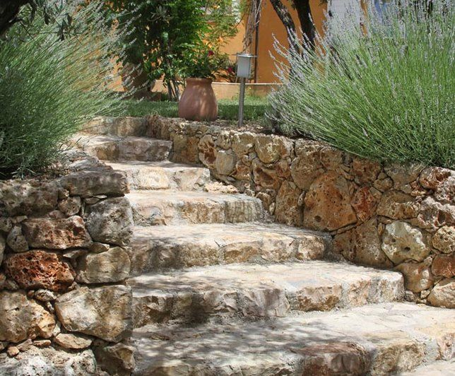 Photo Deco : Terrasse, balcon, veranda Beige Provençal Jardin ...