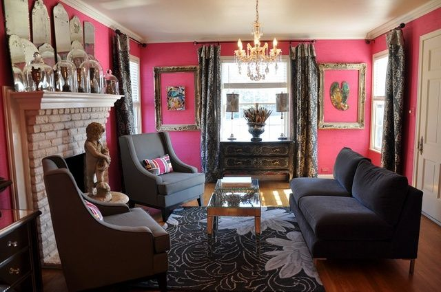 Gray and Pink. Thinking of redoing my craft room | Decor ...