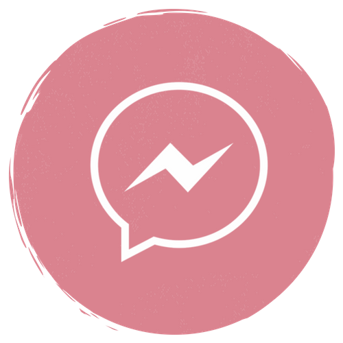 Messenger Icon Aesthetic Grey