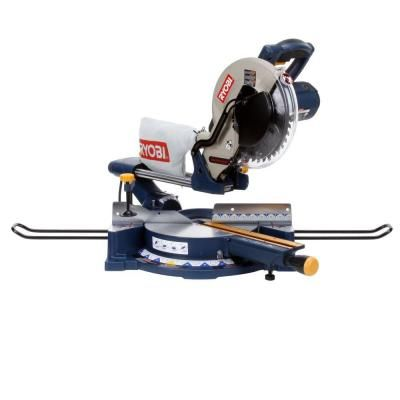 Ryobi 13 Amp 10 In Sliding Compound Miter Saw With Laser Tss101l At The Home De Essential Woodworking Tools Woodworking Power Tools Sliding Compound Miter Saw