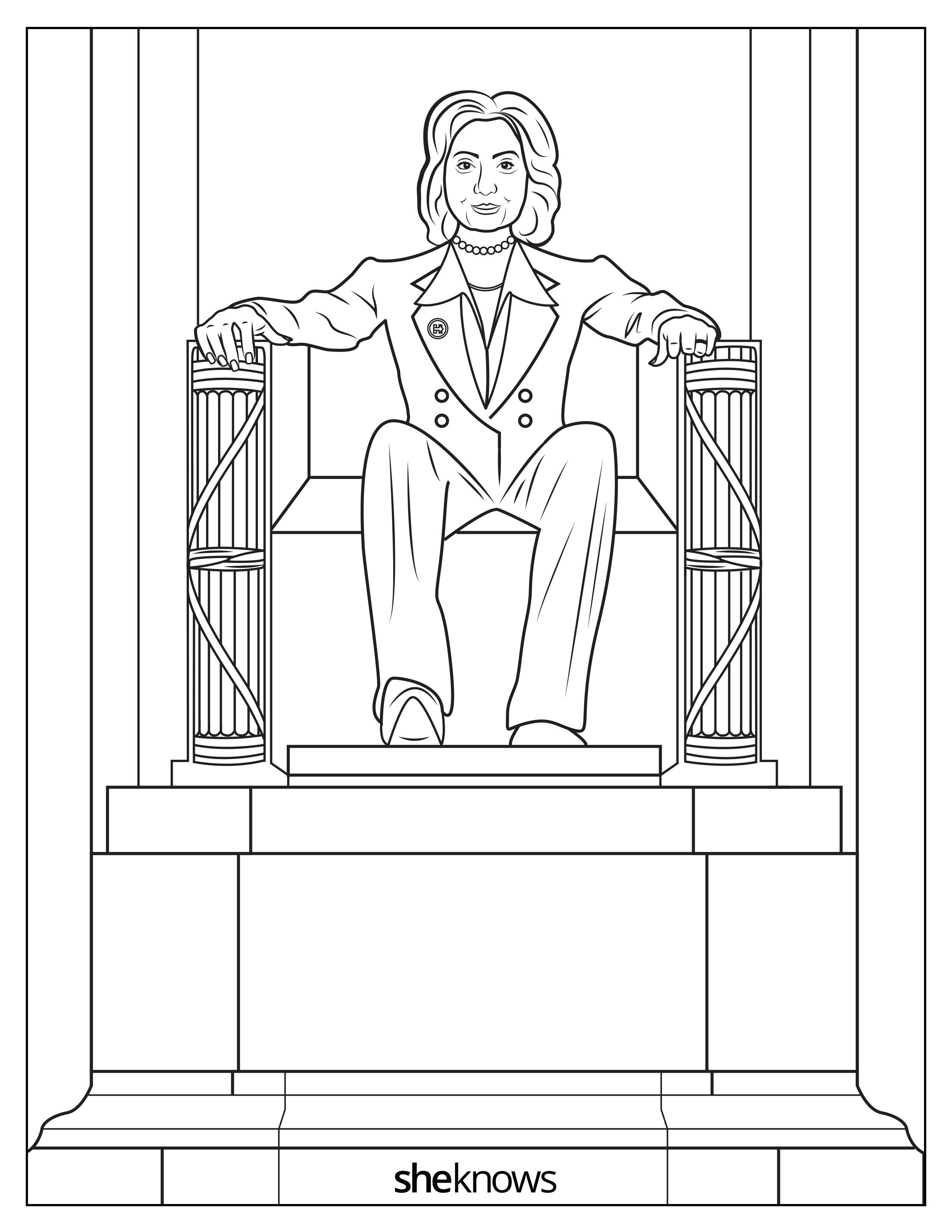 The Hillary Clinton Coloring Book That Will Soothe Your Trump ...