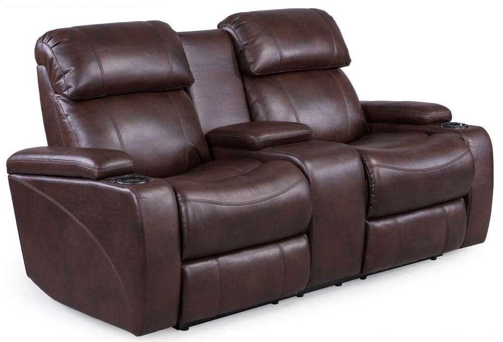 Transformer Power Console Sofa, Synergy Home Furnishings