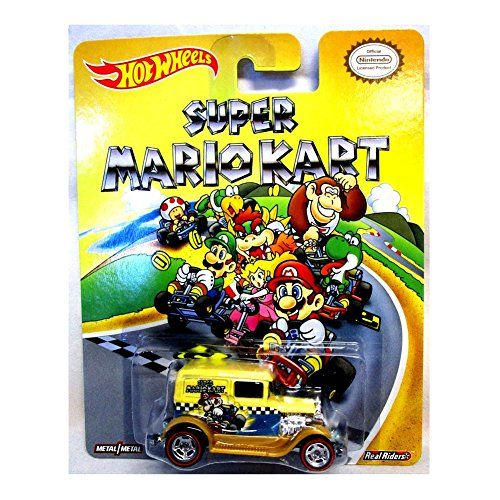Super Mario Bros 2-2015 Hot Wheels Pop Culture REAL RIDERS COOL-ONE