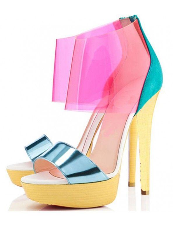 Christian Louboutin Posh Girl Dori PVC Sandals for cheap cheap online outlet fashion Style sCHhtli