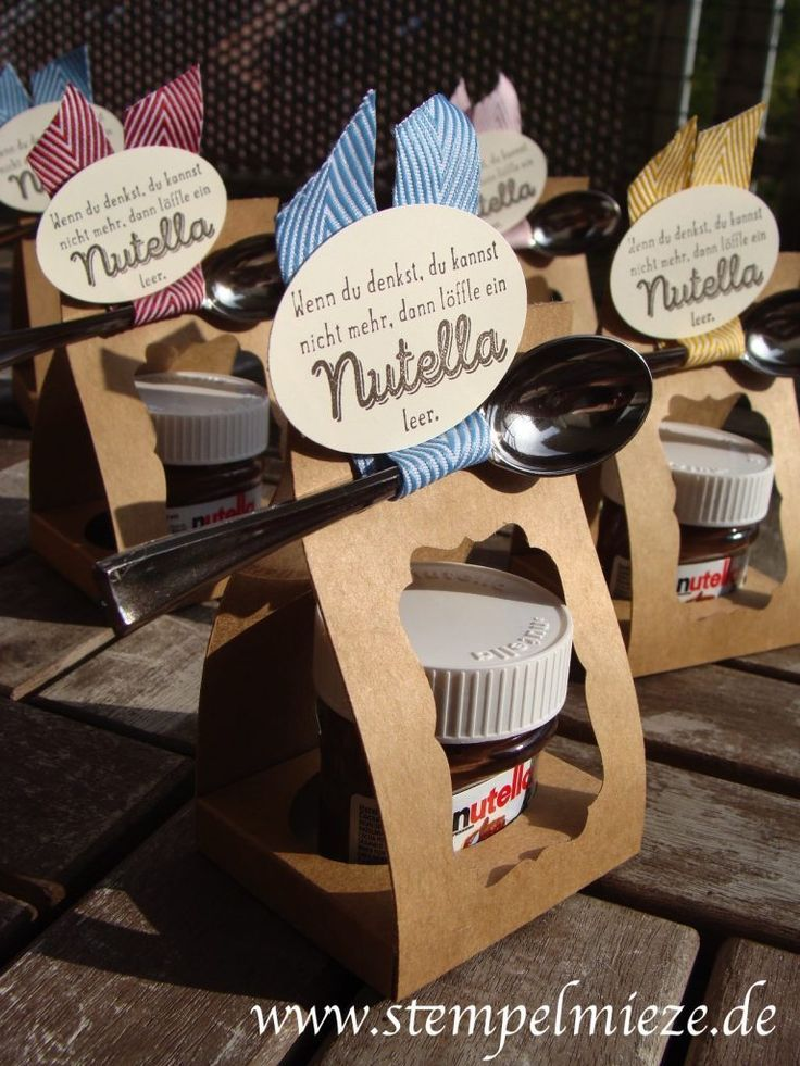 stampinup nutella 3 giveaway goodie stempelmieze geschenke geschenke kreative geschenke und. Black Bedroom Furniture Sets. Home Design Ideas
