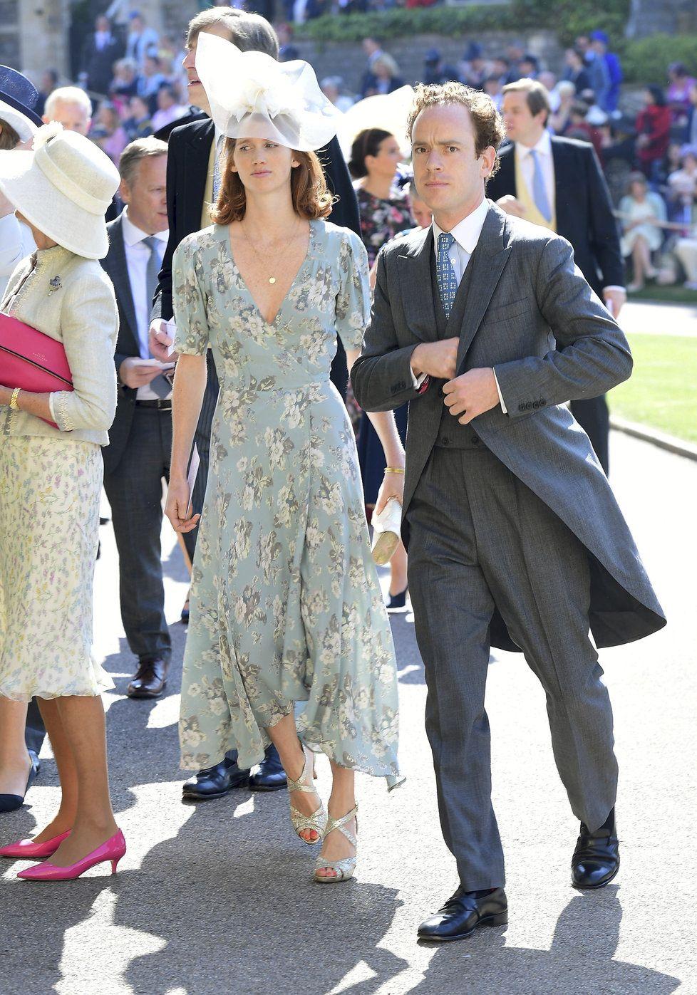Tom Inskip Prijel Na Kralovskou Svatbu Royal Wedding Guests Outfits Guest Outfit Wedding Guest Outfit [ 1397 x 978 Pixel ]