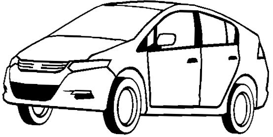 honda insight acura coloring page acura car coloring pages