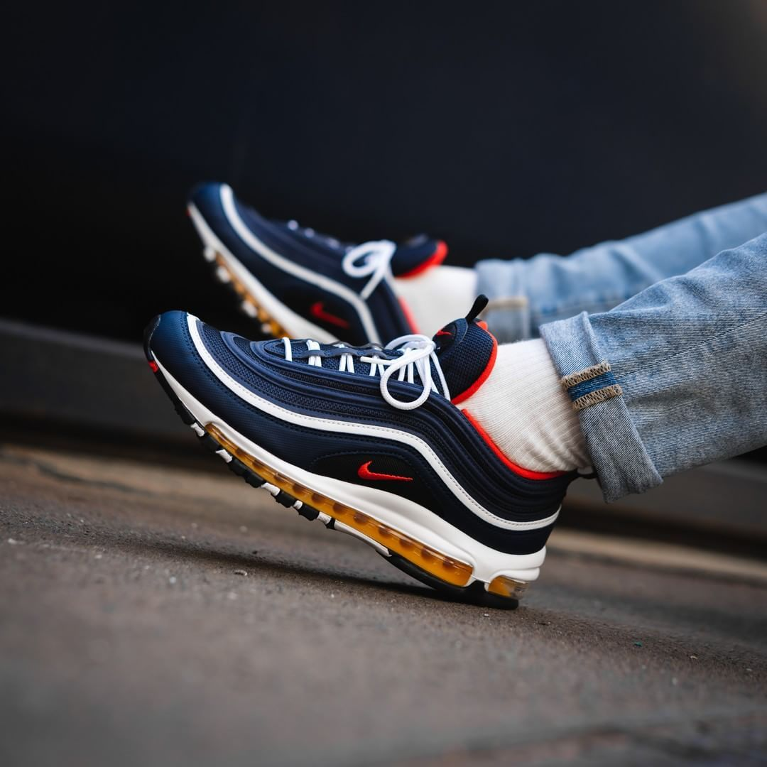 save off e1511 7aa39 Nike Air Max 97 Midnight Navy   Red https   insidesneakers.com