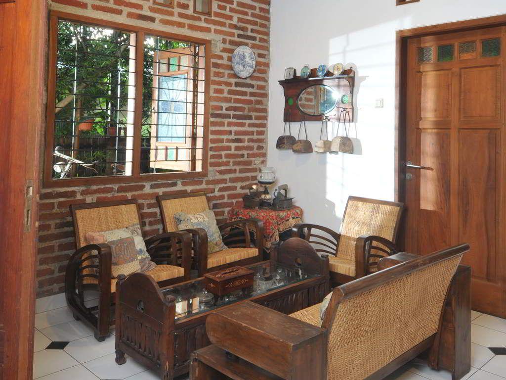 Ide Desain Dekorasi Ruang Tamu Untuk Rumah Kayu Di Dekorasi Ruang