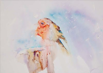 Watercolours With Life: Baby, It's Cold Outside!