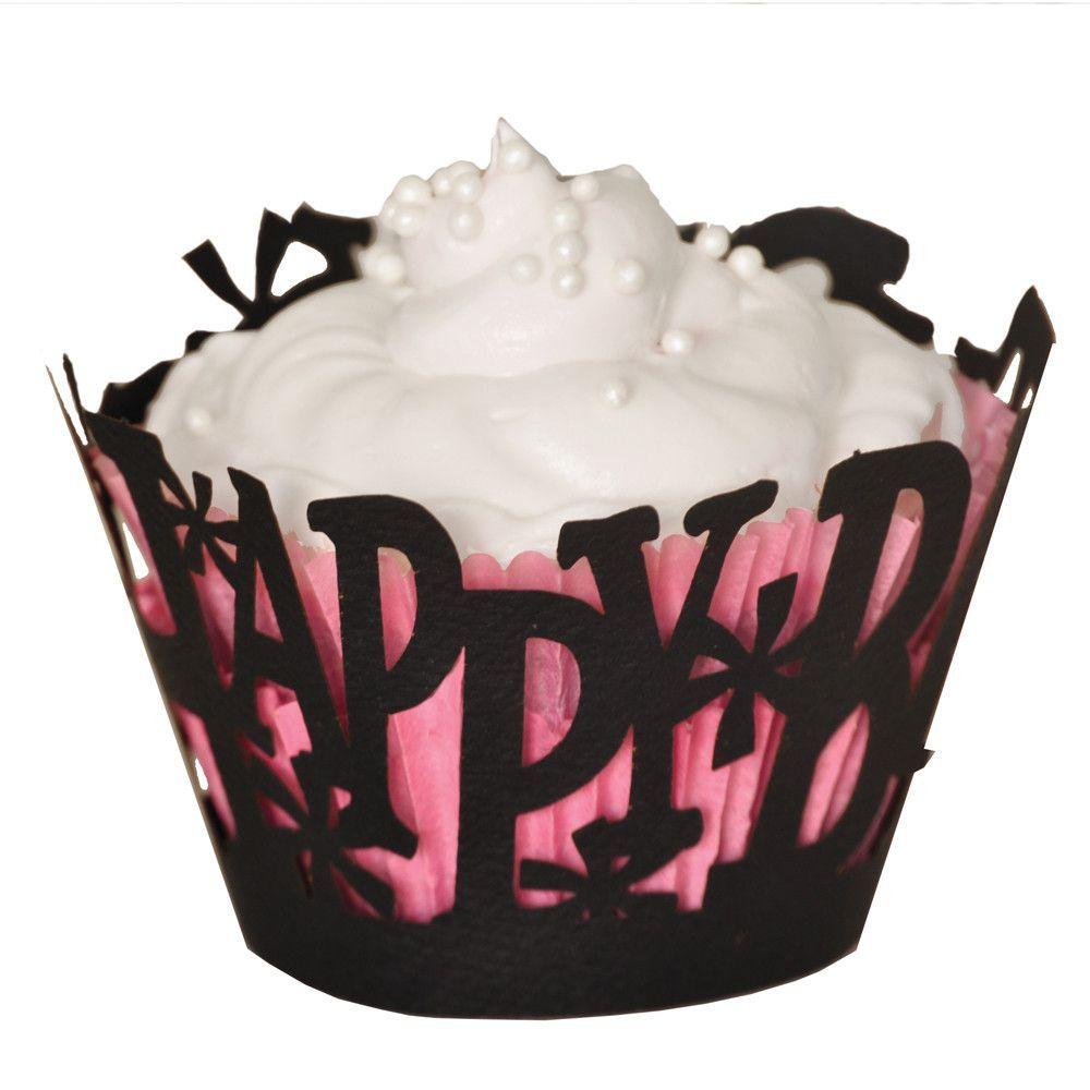 Happy Birthday Cupcake Wrapper