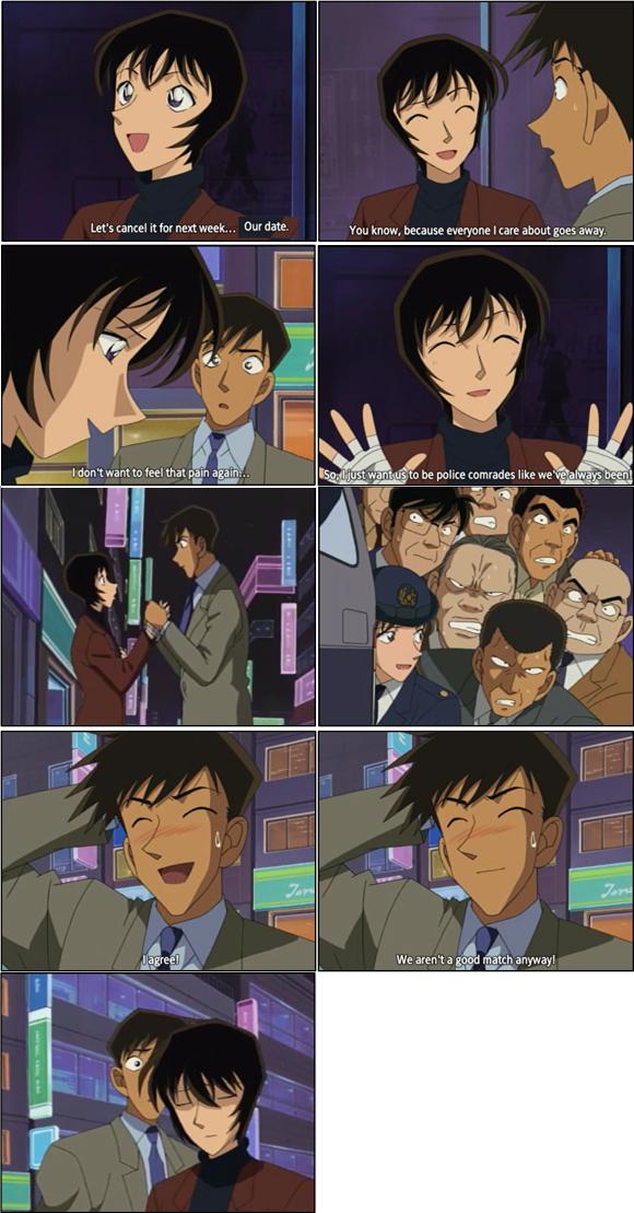 Police love story Takagi and Sato Episode 301-302 #DetectiveConan