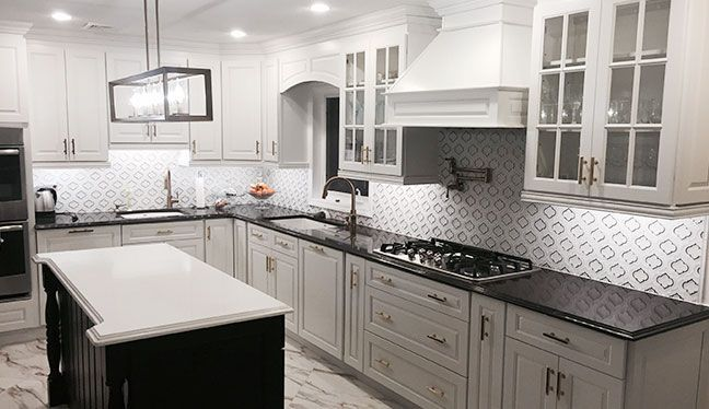 Best Gramercy White Kitchen Cabinets In 2019 Kitchen Cabinets 400 x 300