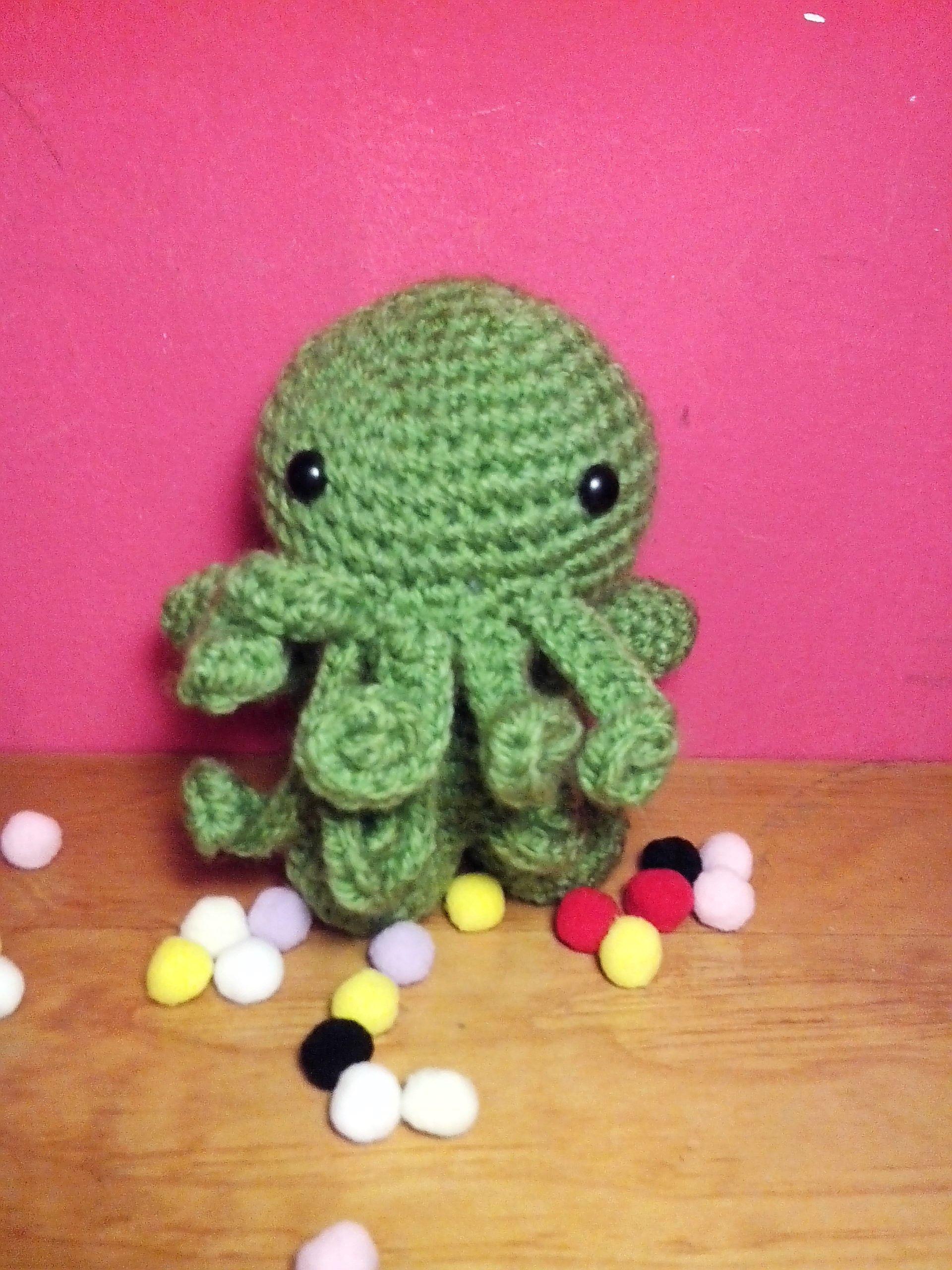 crochet cthulhu amigurumi Lovecraft universe | PATAPOUF | Pinterest
