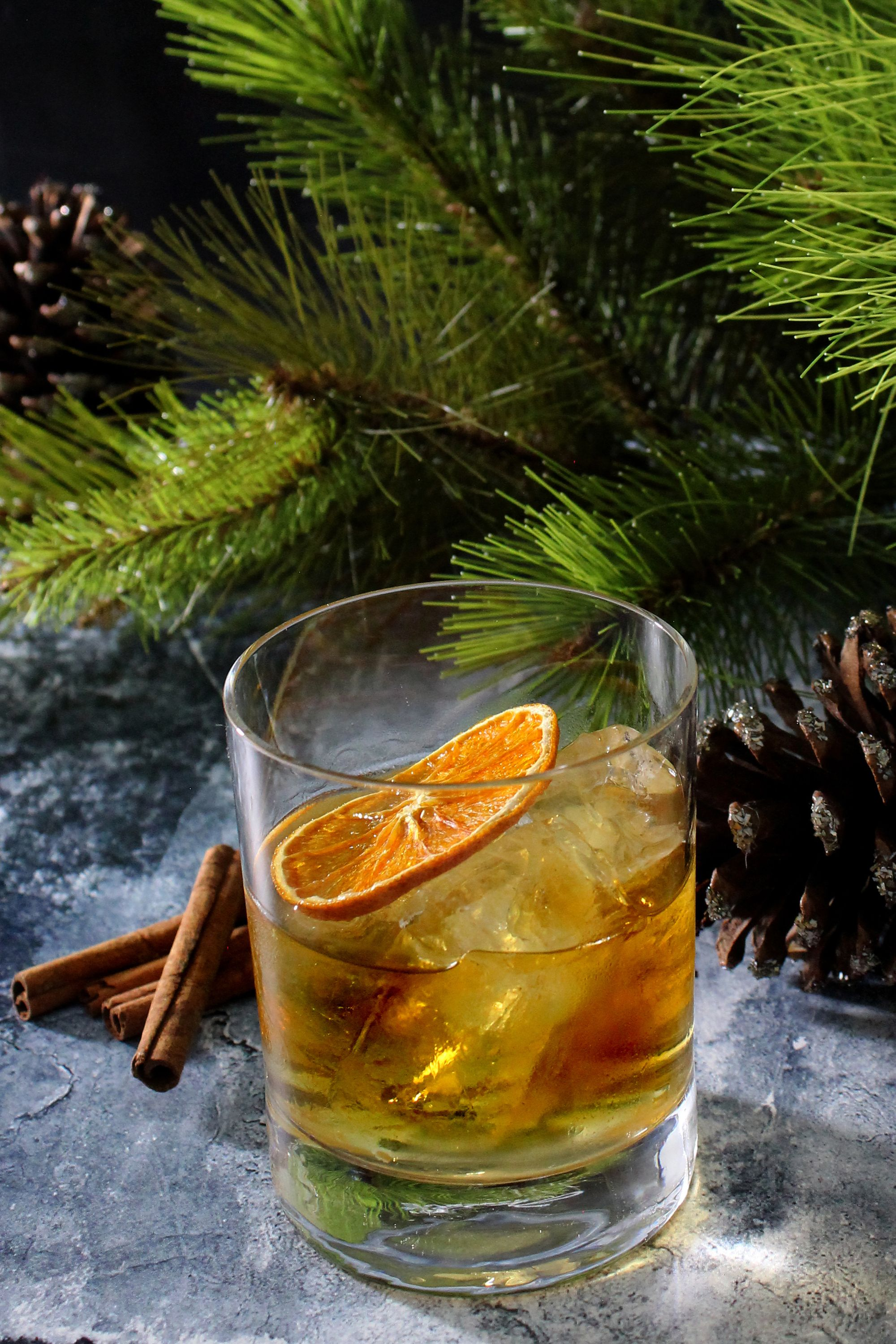 Holiday Old Fashioned Cocktail kit with bourbon