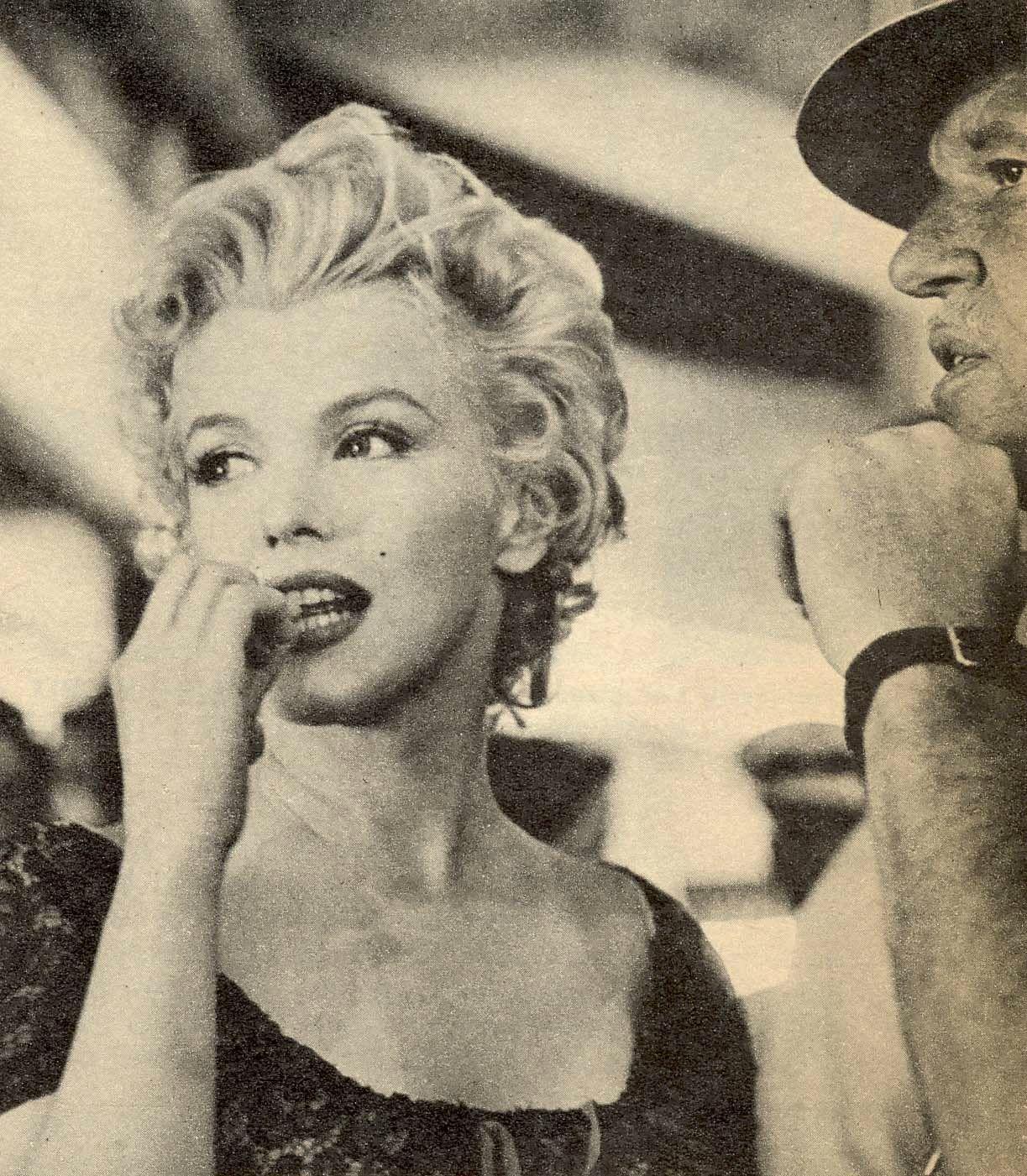 Sur le tournage de Bus Stop 7 -partie 1 - Divine Marilyn Monroe   Films